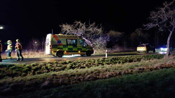 Tragická dopravní nehoda mezi Kravařemi a Štěpánkovicemi, zemřel 32letý muž