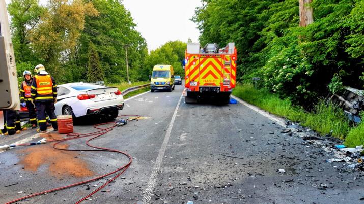 V Karviné se stala tragická dopravní nehoda