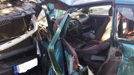 Střet osobního auta s dodávkou v Palkovicích, pro vážně zraněnou ženu musel vrtulník