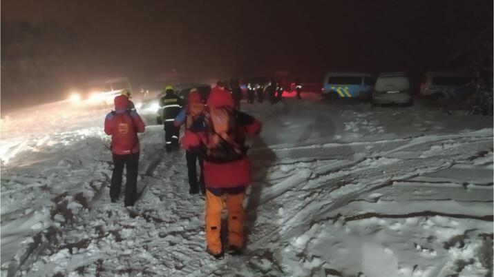 Opilý muž z Havířova se ztratil na Pustevnách, pátraly po něm desítky policistů, hasičů i členů horské služby