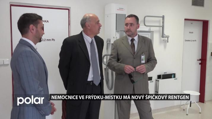 Nemocnice ve Frýdku-Místku má nový špičkový rentgen