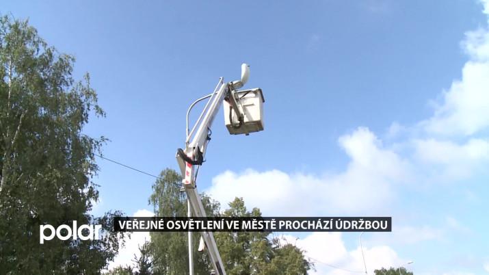 Veřejné osvětlení ve Frýdku-Místku prochází údržbou