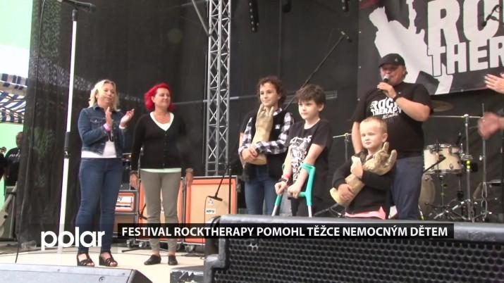 Festival RockTherapy pomohl těžce nemocným dětem