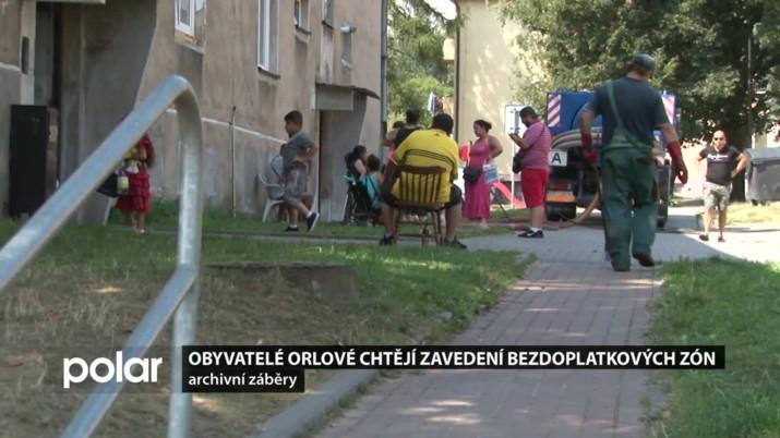 Obyvatelé Orlové chtějí zavedení bezdoplatkových zón