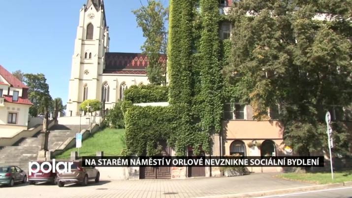 Na starém náměstí v Orlové nevznikne sociální bydlení
