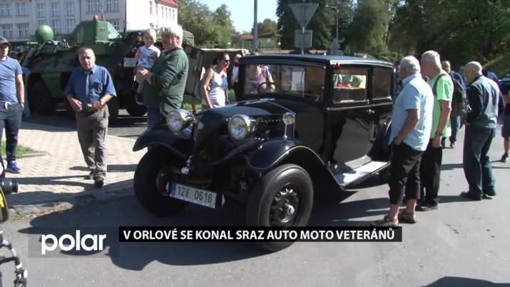 V Orlové se konal sraz auto moto veteránů
