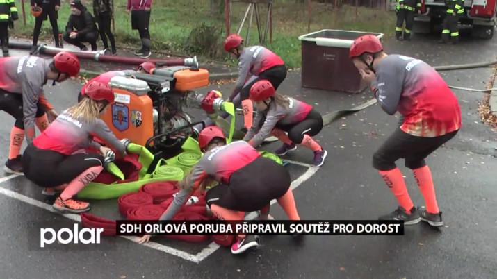 SDH z Orlové připravil soutěž pro dorost