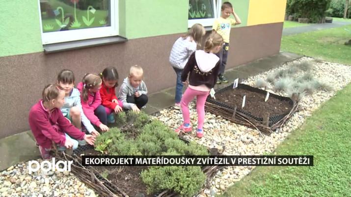 Projekt Mateřídoušky zvítězil v prestižní soutěži