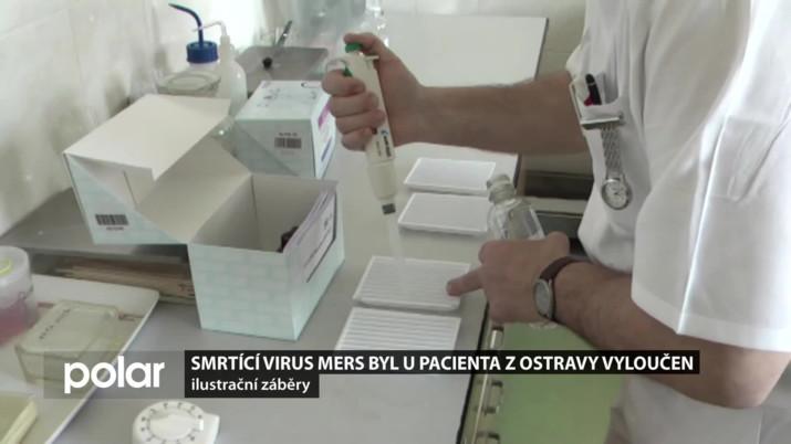 Smrtící virus MERS byl u pacienta z Ostravy vyloučen