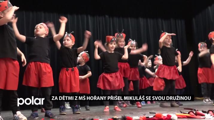 Za dětmi z MŠ Hořany přišel Mikuláš se svou družinou