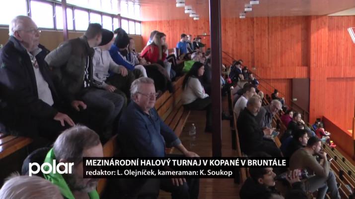 Mezinárodní halový turnaj v kopané v Bruntále