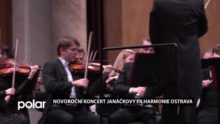 Novoroční koncert Janáčkovy filharmonie Ostrava