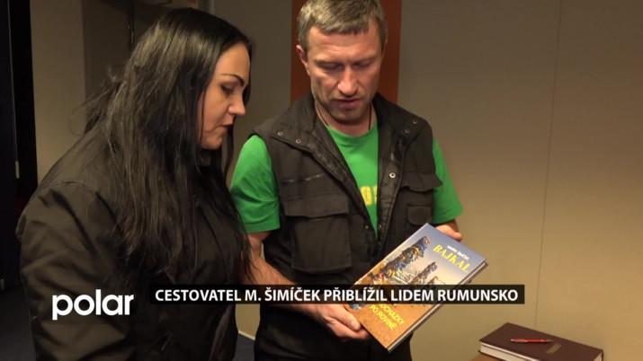 Cestovatel Marek Šimíček přiblížil lidem Rumunsko