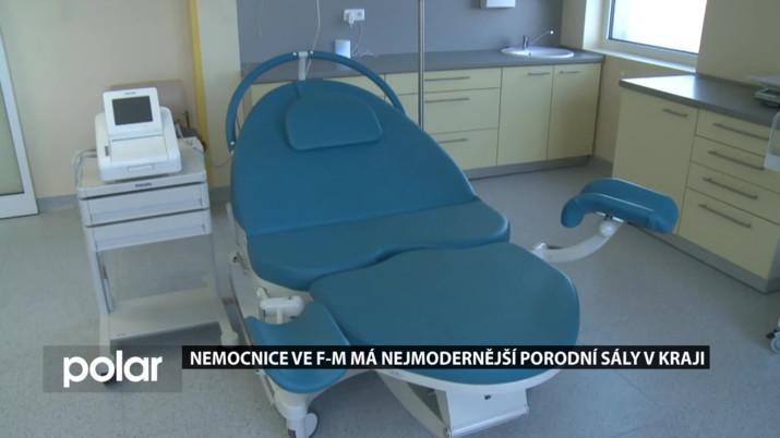 Nemocnice ve F-M má nejmodernější porodní sály v kraji