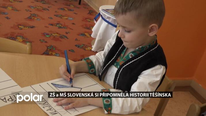 Karvinská škola si připomněla historii Těšínska