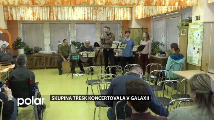V Karvinském denním stacionáři koncertoval Třesk