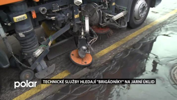 """Technické služby hledají """"brigádníky"""" na jarní úklid"""