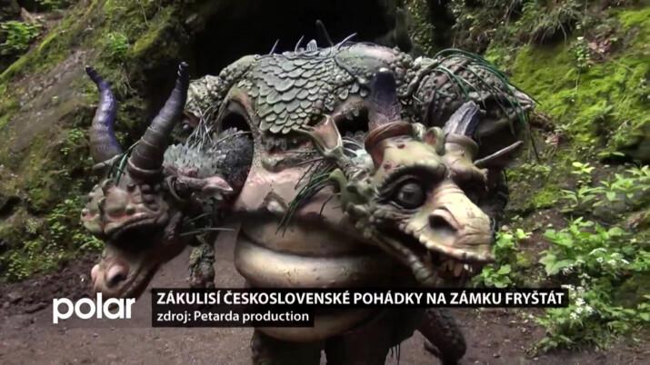 Zákulisí 1. československé pohádky na zámku Fryštát