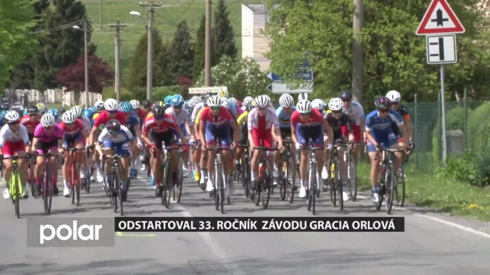 V Orlové odstartoval 33. ročník prestižního závodu Gracia
