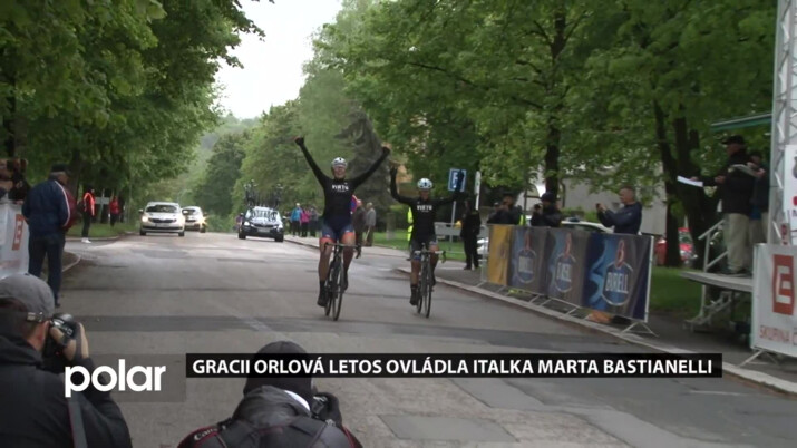 Italka Marta Bastianelli se stala vítězkou závodu Gracia Orlová
