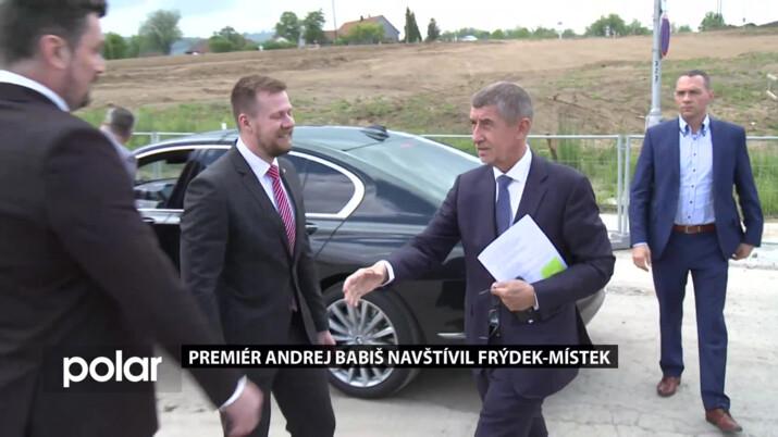 Premiér Andrej Babiš navštívil Frýdek-Místek