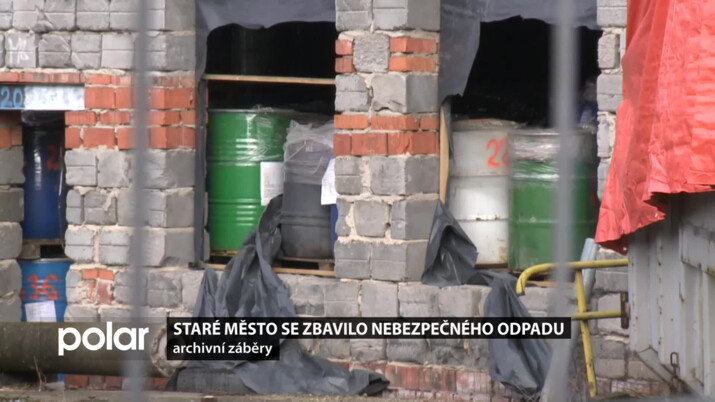 Staré Město se zbavilo nebezpečného odpadu