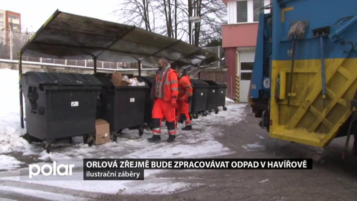 Orlová bude zřejmě zpracovávat odpad v Havířově