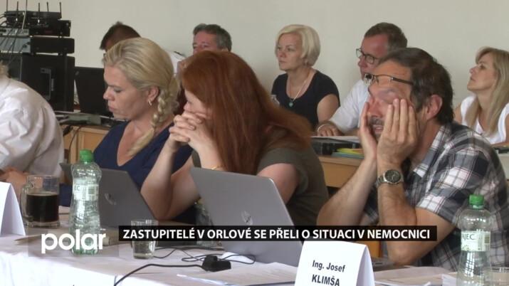 Zastupitelé v Orlové se přeli o situaci v nemocnici