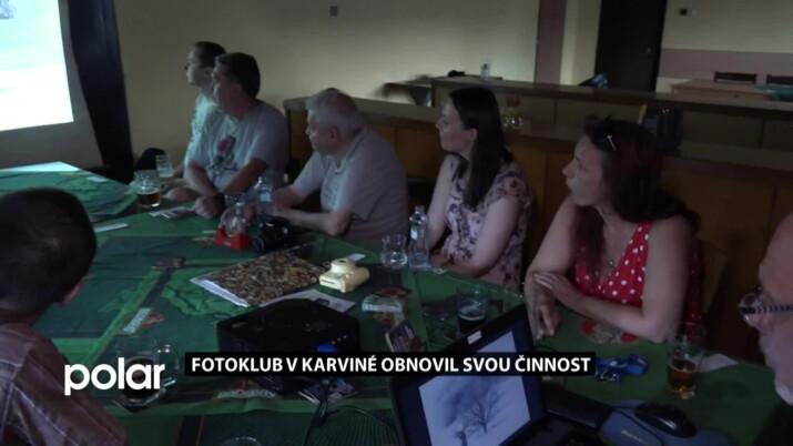 Fotoklub v Karviné obnovil svou činnost. Někteří experimentují s dírkovou komorou