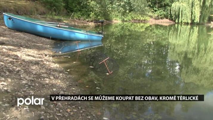 V přehradách se můžeme koupat bez obav, kromě Těrlické