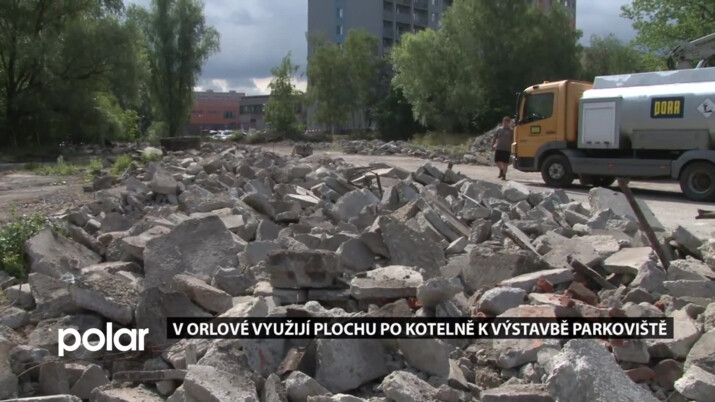 V Orlové využijí plochu po kotelně k výstavbě parkoviště