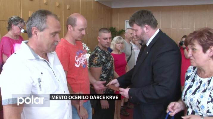 V Orlové ocenili dárce krve