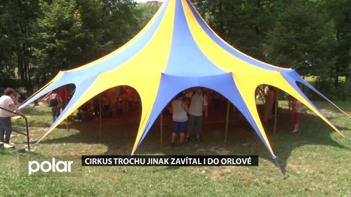 Cirkus trochu jinak zavítal i do Orlové