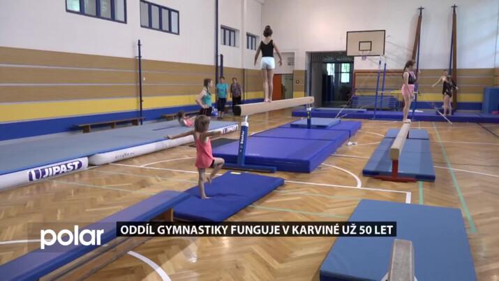 Oddíl gymnastiky funguje v Karviné už 50 let, jeho zakladatelka je v něm stále aktivní