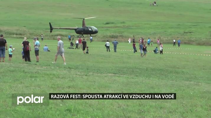 Razová Fest: Spousta atrakcí ve vzduchu i ve vodě. Plno nevšedních zážitků pro tisíce lidí