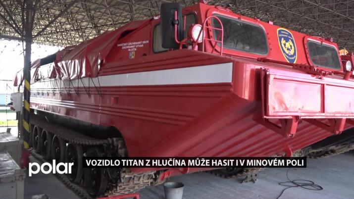 Superauto hlučínských hasičů. Podívejte se, jak vypadá vůz, který umí hasit i v minovém poli
