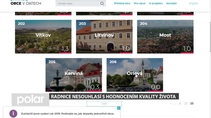 Nejhorší život v ČR je v Orlové a Karviné? Hloupost, tvrdí radnice