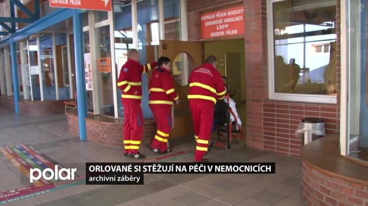 Orlované si stěžují na péči v nemocnicích. Starosta Orlové vyzval vedení kraje, ať situaci řeší