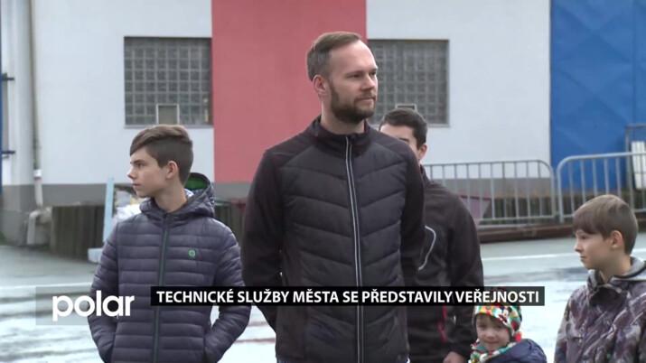 Technické služby Frýdku-Místku se představily veřejnosti. Předvedly svůj areál i techniku