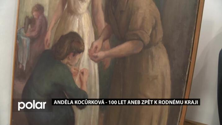 Bývalá Moravia banka ve Frýdku-Místku zve na výstavu Anděly Kocůrkové