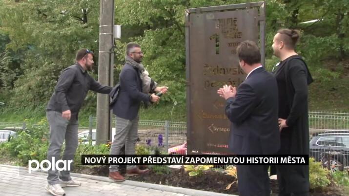 Nový projekt představí zapomenutou historii Frýdku-Místku. První bod připomíná židovské památky