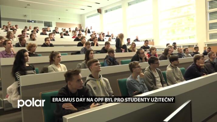 Erasmus day na OPF Karviná byl pro studenty užitečný
