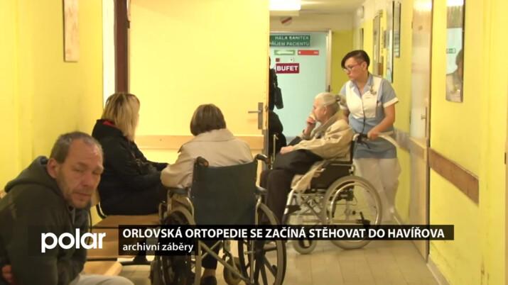 Kraj navrhl rychlé přestěhování orlovské ortopedie do Karviné. Zdravotníci to odmítli