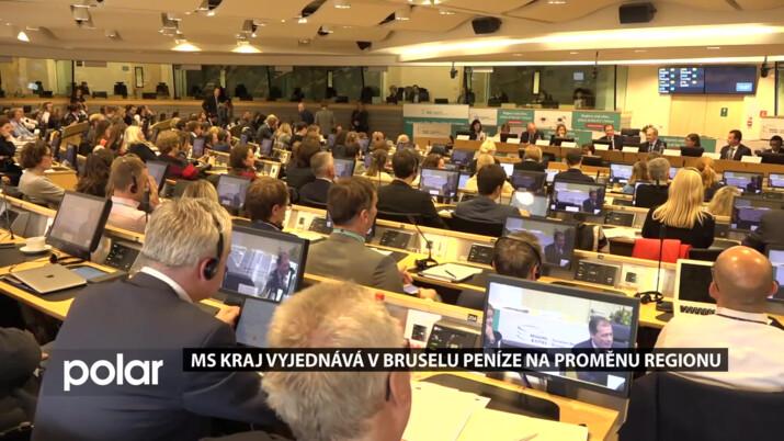 Moravskoslezský kraj vyjednává v Bruselu peníze určené pro regiony postižené těžbou