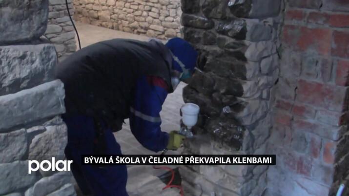 Rekonstrukce bývalé školy v Čeladné odkryla příjemné překvapení