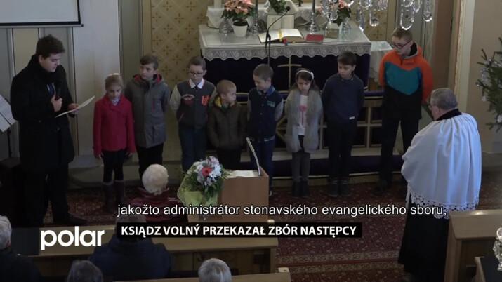 Ksiądz Volný przekazał zbór następcy