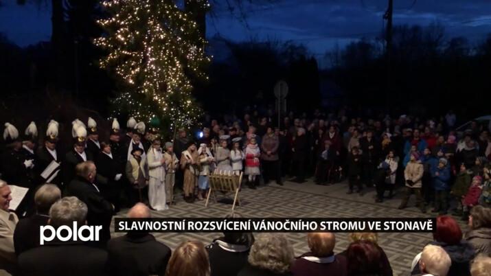 Slavnostní rozsvícení vánočního stromu má v obci své předvánoční kouzlo