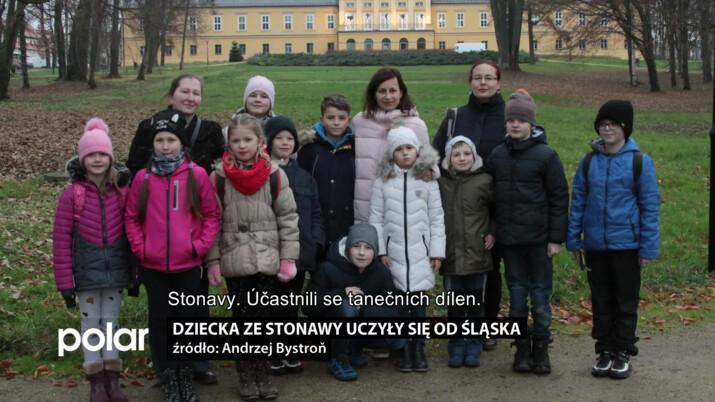 Dziecka ze Stonawy uczyły się od  Śląska