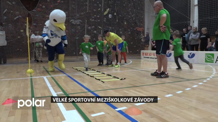 Městský sportovní klub v Orlové se věnuje dětem z mateřinek. Na společný výsledek se mohli podívat i rodiče