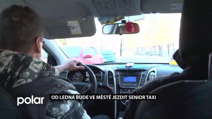 Ve Frýdku-Místku začne jezdit Senior taxi, poprvé vyjede 20. ledna